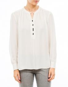 Contrasted buttoned silk shirt MASSCOB
