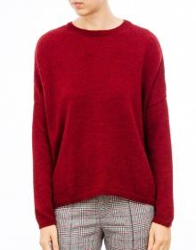 Jersey básico cuello redondo-Rojo MASSCOB