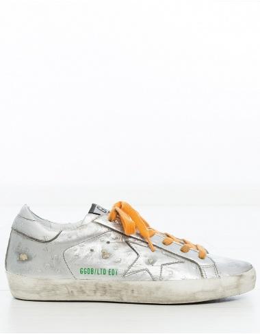 calzado- Sneaker SuperStar edición limitada - plata GOLDEN GOOSE DELUXE BRAND