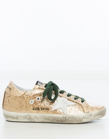 Sneakers gold glitter