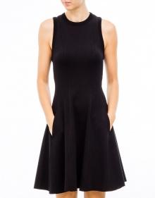 Flared skirt dress