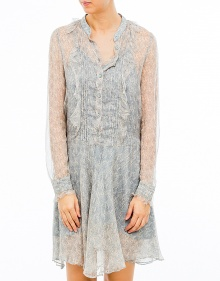 Silk chiffon printed dress ZADIG & VOLTAIRE