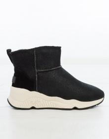 Sneaker pelo interior lisa - negro ASH