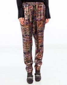 Lurex print pants  VANESSABRUNO