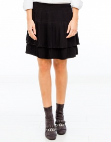 Pleated crepe skirt  VANESSABRUNO
