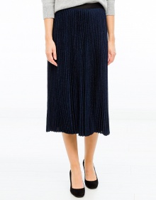 Pleated lurex skirt VANESSABRUNO