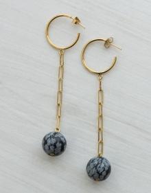 Long earrings bowls ISABEL MARANT