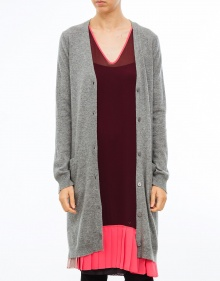 C/Cardigan cashmere midi TWIN-SET