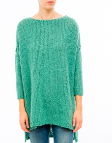 Knitted poncho jumper AMERICAN VINTAGE