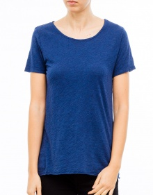 Short sleeved round neck cotton t-shirt  AMERICAN VINTAGE