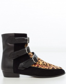 ROWI - Leopard ankle boot ISABEL MARANT