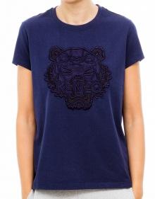 C/ T-Shirt tigre marino KENZO