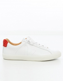 Basic leather sneaker VEJA