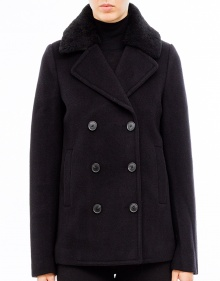 Short coat buttons - black T BY ALEXANDER WANG