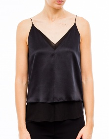 Tank top combination satin T BY ALEXANDER WANG