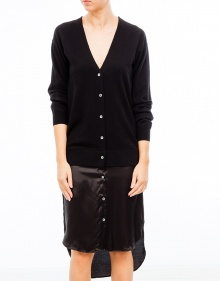 Dress with combination satin jacket T BY ALEXANDER WANG