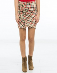 WILMA - Chequered skirt - multicolor ISABEL MARANT ETOILE