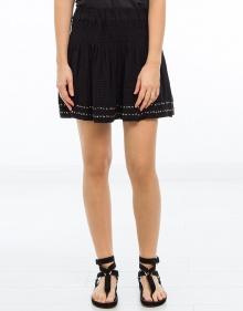 C/ALEA Falda bordados y tachuelas negro ISABEL MARANT ETOILE