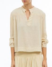ALICAN - Camisa algodón rústico ISABEL MARANT ETOILE