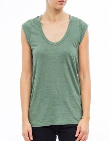 C/KENTOW T-shirt sm verde ISABEL MARANT ETOILE