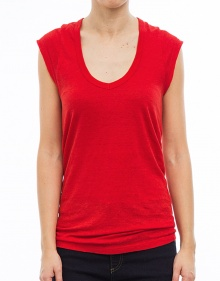 C/KENTOW T-shirt sm rojo ISABEL MARANT ETOILE