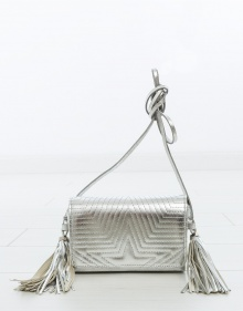 FANNY small bag - silver GOLDEN GOOSE DELUXE BRAND
