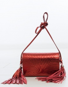 FANNY small bag - red GOLDEN GOOSE DELUXE BRAND