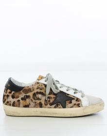Sneaker superstar leopardo