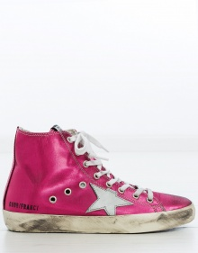Sneaker Francy - rosa metálico GOLDEN GOOSE DELUXE BRAND