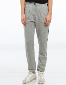 Lateral stripe baggy trousers  TWIN-SET