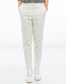 Viscose trousers - white TWIN-SET