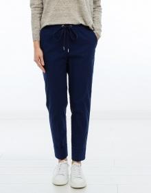 C/Pantalón algodón vuelta y goma - marin TWIN-SET