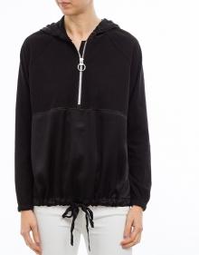 C/Canguro algodón seda - negro TWIN-SET