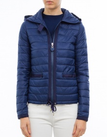 Fine down jacket - navy TWIN-SET