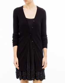 Knitted jacket - black TWIN-SET
