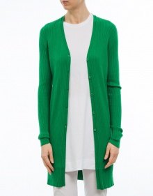 Knitted jacket - green TWIN-SET