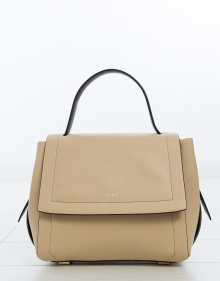 Bolso mediano liso contraste DKNY