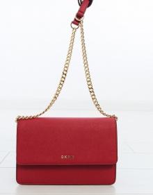 Saffiano crossbody bag - red