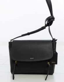 Medium sized crossbody bag - black
