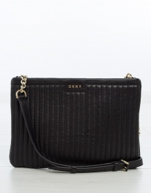 Flat padded bag - black