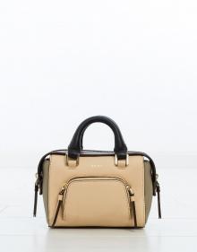 Mini satchel tricolor bag