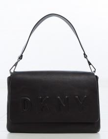 Bolso solapa logo DKNY