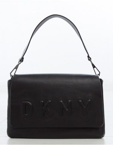 bolsos Bolso solapa logo DKNY