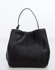 Bolso bucket pliegues DKNY