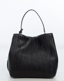 Bolso bucket pliegues DKNY