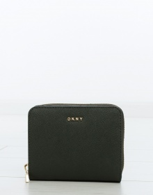 C/ Cartera saffiano cremallera pequeña DKNY