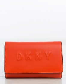 C/ Cartera mediana solapa logo DKNY