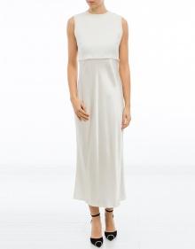 Vestido franja detalle DKNY