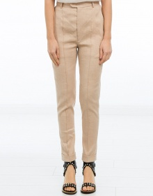 NADI - Linen trousers - light pink ISABEL MARANT