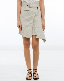 EYDIE- Falda asimétrica chic jeans ISABEL MARANT